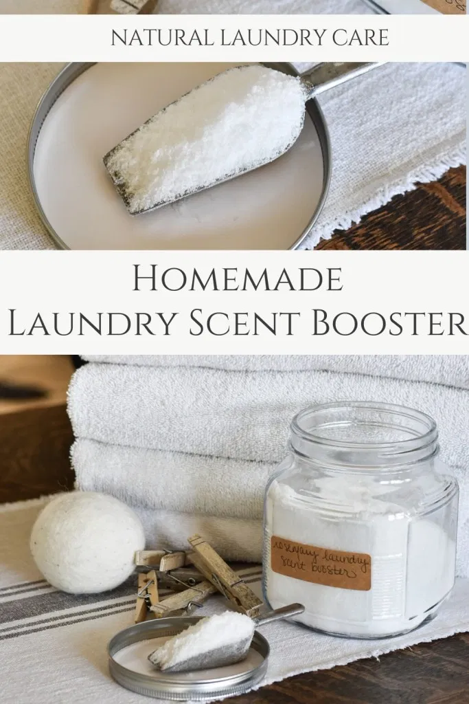 Homemade Laundry Scent Booster Recipe Homemade Laundry
