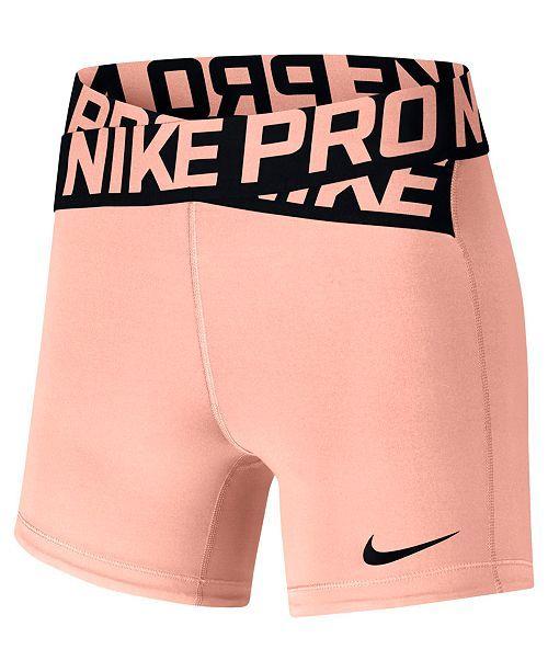 Nike Pro Dri FIT Shorts & Reviews Shorts Women Macy's