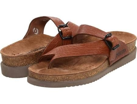 Mephisto Helen Women's Sandals Desert Buffalo Leather (Tan Grain) : 37 (US  Women's