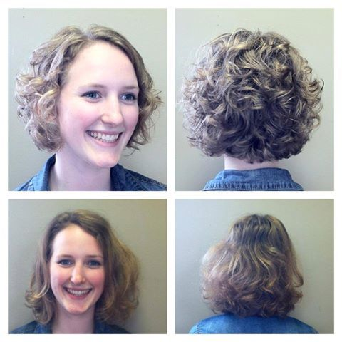 curly stacked bob hair styles pinterest curly