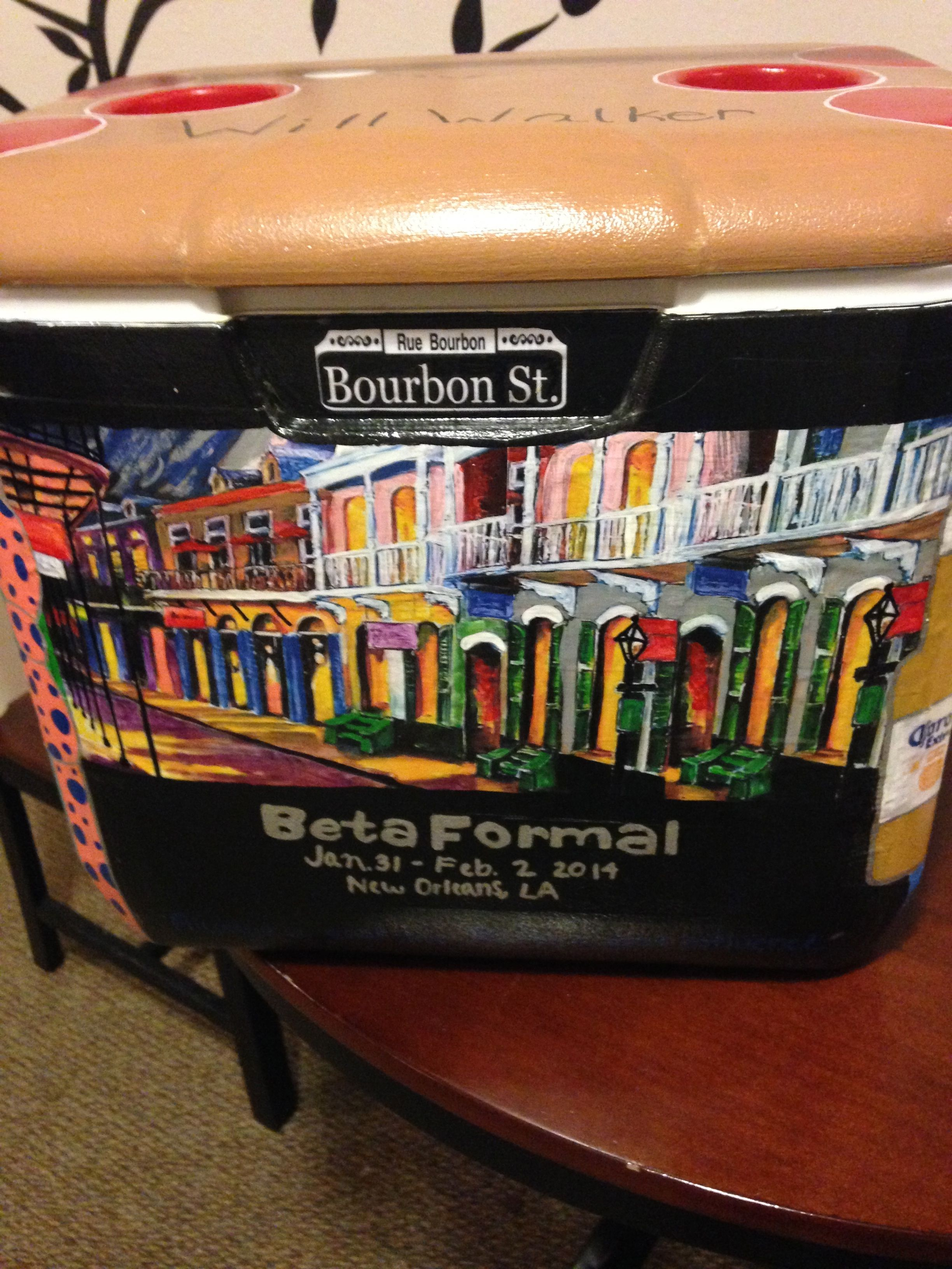 Sessel Nola Auburn University Beta Formal Cooler 2014 Cooler Ideas