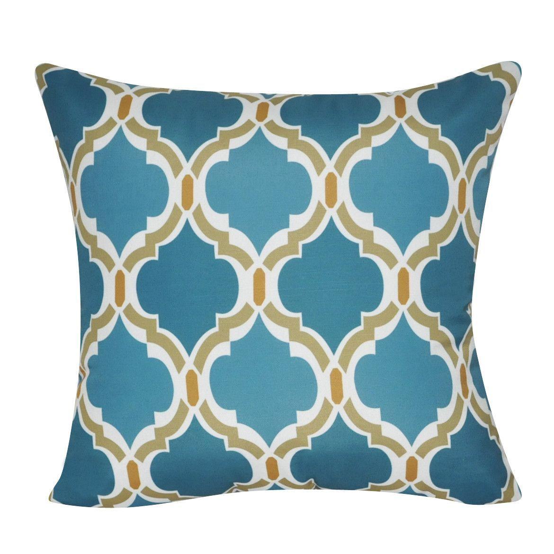 Blue damask decorative pillow fabrics decorating pinterest