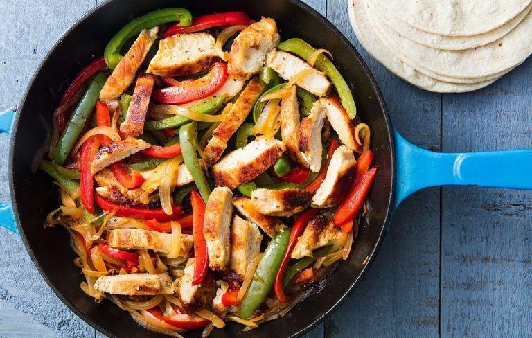 Chicken Fajitas Make The Fastest Weeknight Dinner Resep Resep Sehat Resep