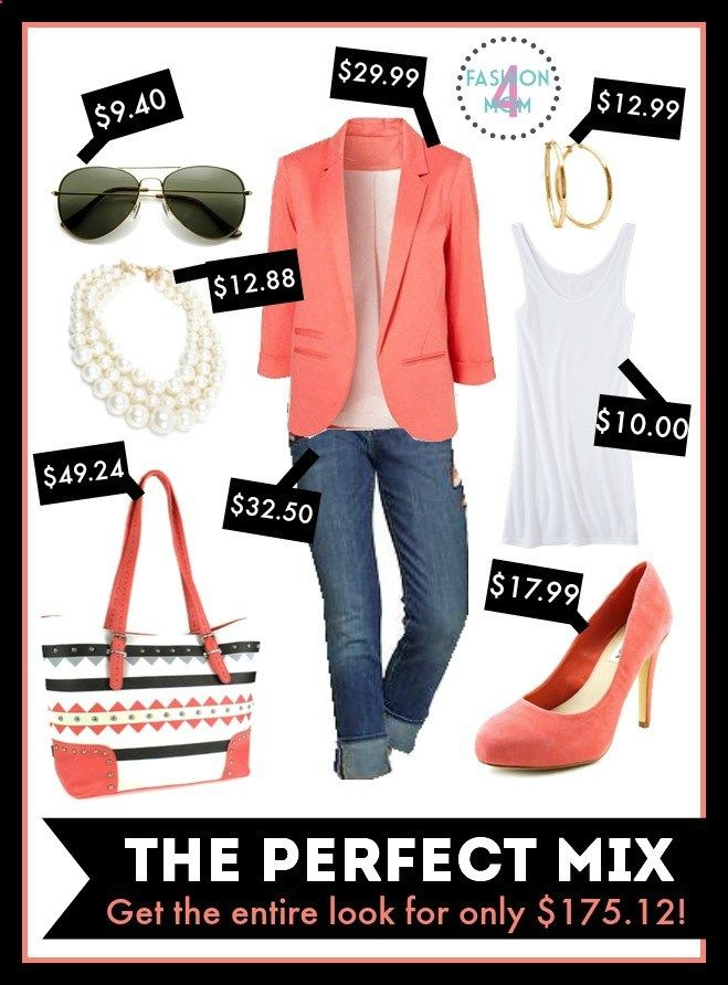 The Perfect Mix - Budget Friendly Fashion For Women. LOOOOVE this site! She takes Pinterest outfits and creates budget friendly look alikes!