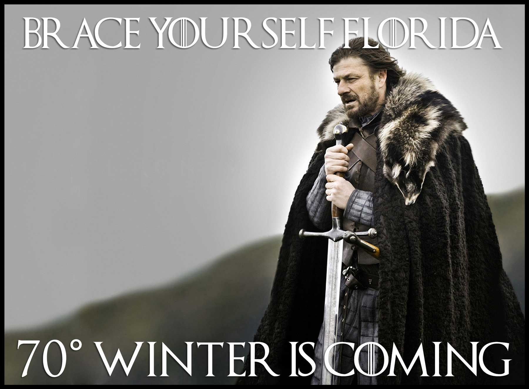 Game of Thrones Memes Winter is coming meme, Memes, Florida