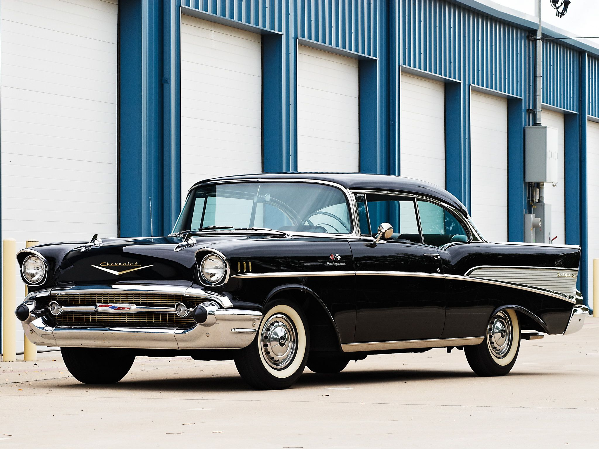 1957 Chevrolet Bel Air Fuel Injection Sport Coupe (2454-1037D) | Chevrolet bel  air, 1957 chevrolet, Chevrolet