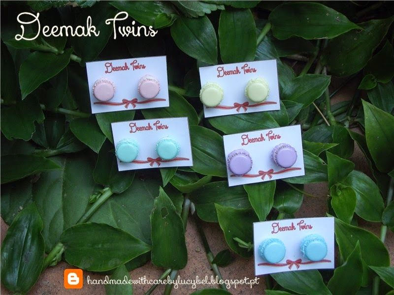 Macaron Earrings (studs)