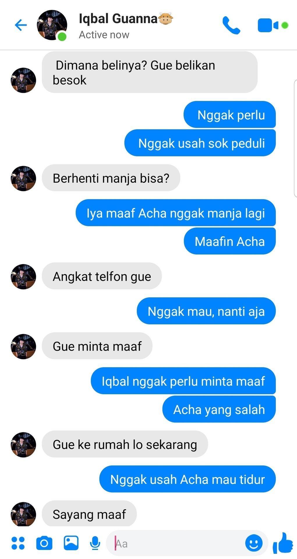 Chat Time Mariposa Ungkapan Lucu Teks Romantis