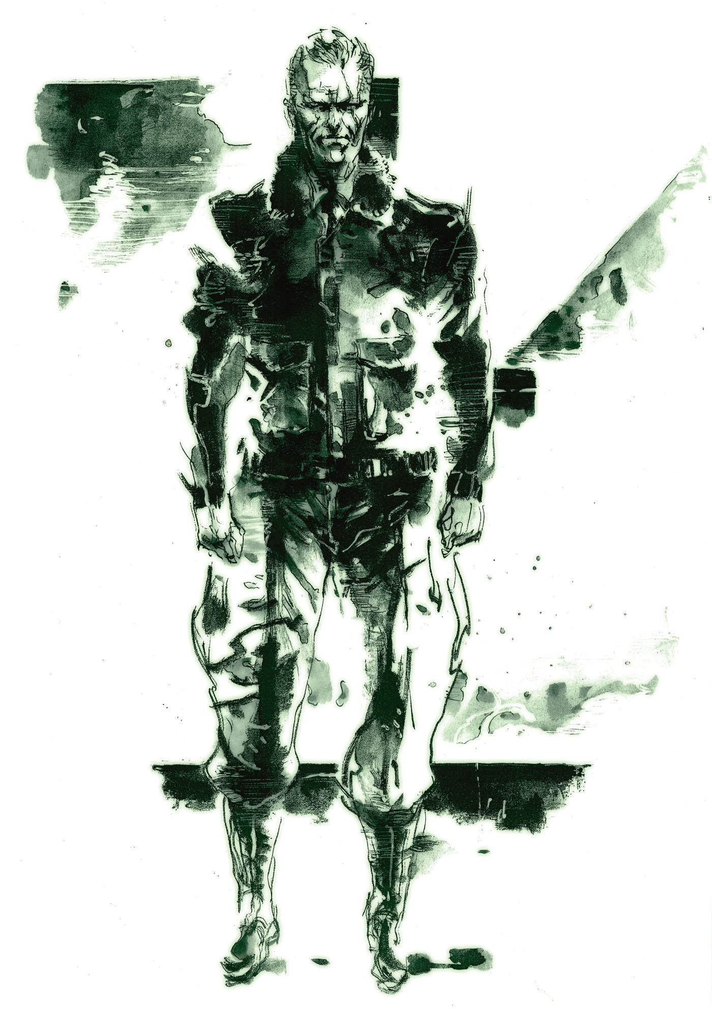 Mgs3 Zero Yojji Shinkawa Png 1400 1992 Metal Gear Solid Metal Gear Rising Metal Gear