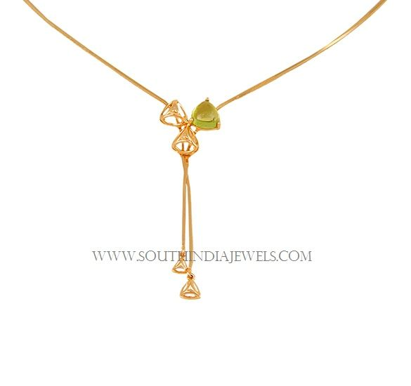 Tanishq Lightweight Gold Necklace Designs With Price South India Jewels Gold Necklace Designs Gold Necklace Necklace Designs