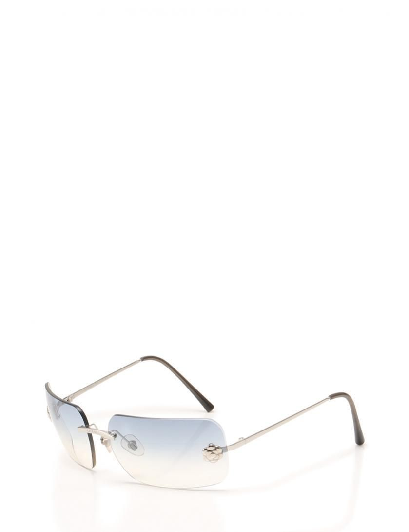 CHANEL sunglasses Camellia Silver Blue - Sale! Up to 75% OFF! Shop ...