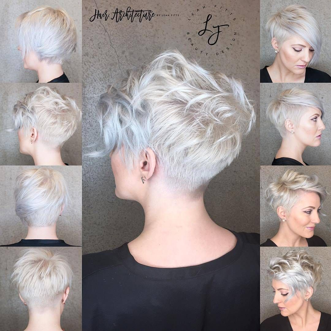 Photo of 10 messy hairstyles for short hair – cut & color update – hairstyles models