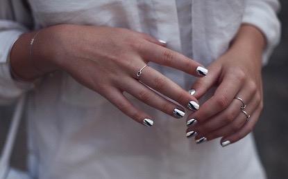 Fashion #beautiful -  nail polish,  girl,  fashion