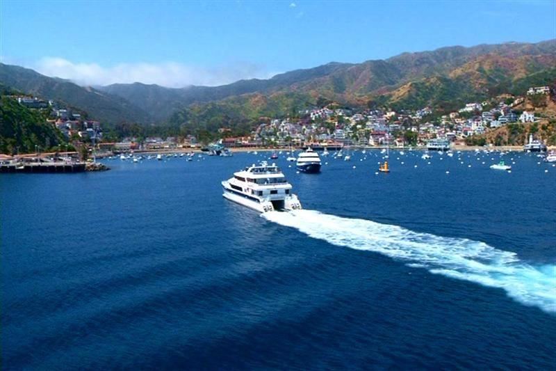 Visit Avalon on Catalina Island.