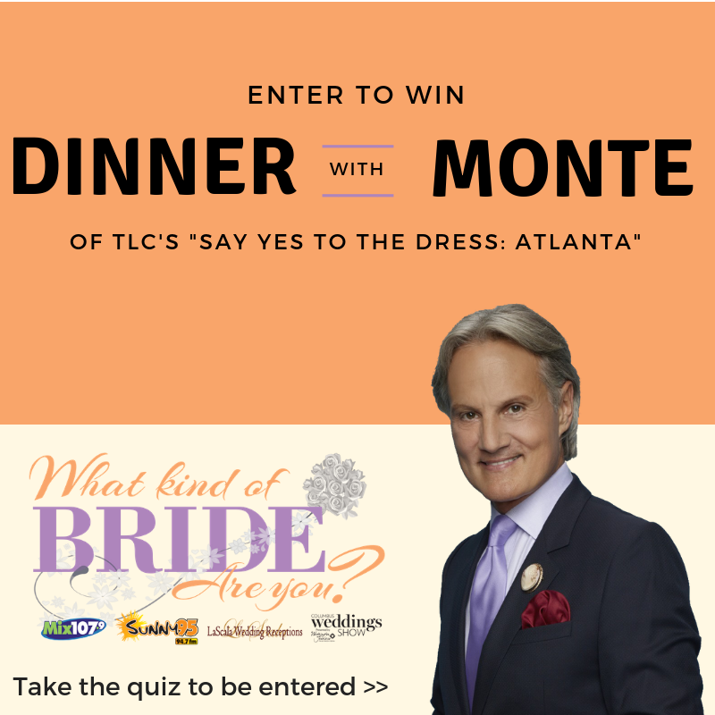 Wedding Hairstyle Quiz: If You Love Monte Durham As Much As We Do, You Won't Want