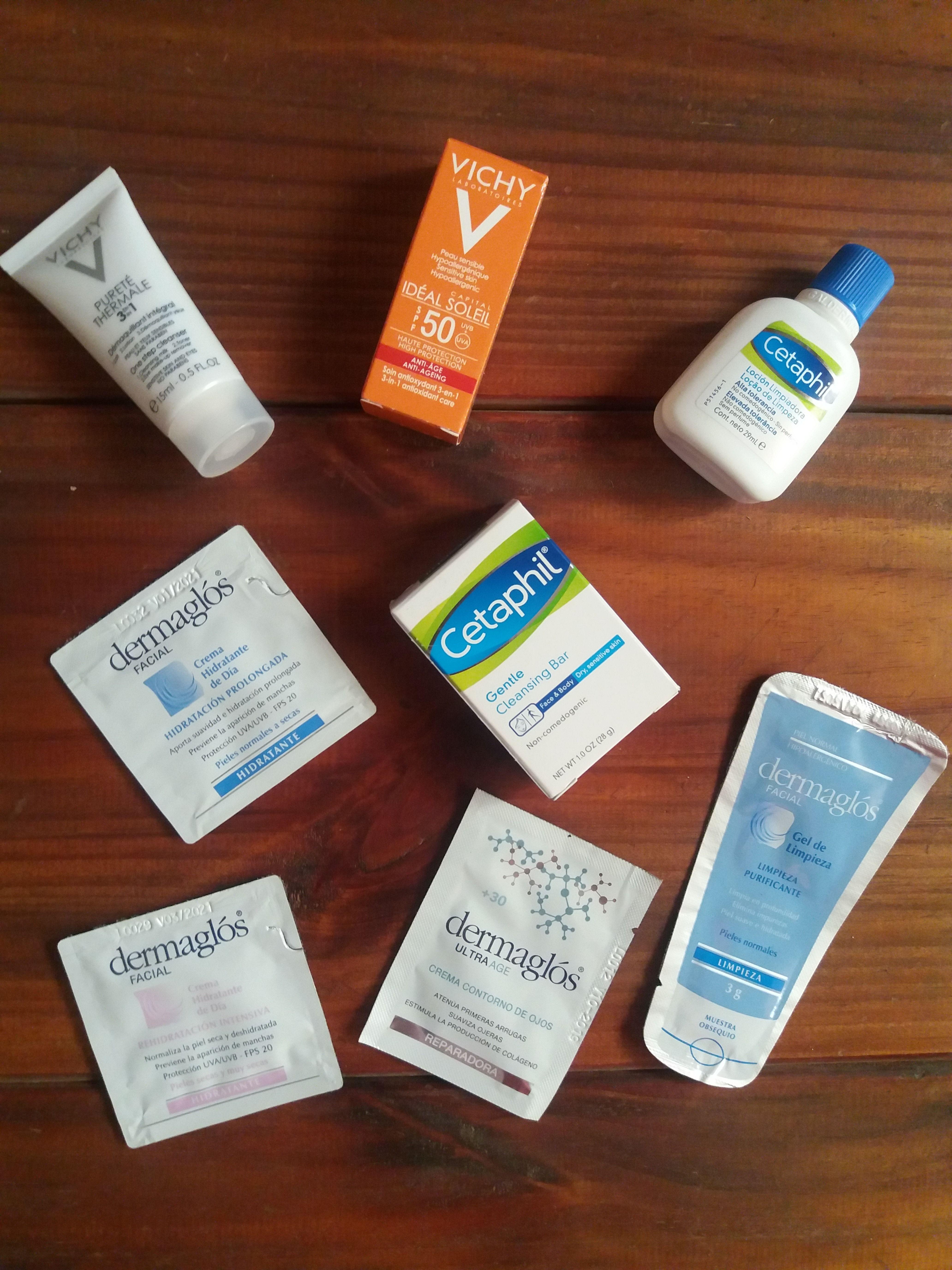 Probando Productos De Vichy Cetaphil Y Dermaglós Productos Vichy Piel Sensible Cuidado De La Piel