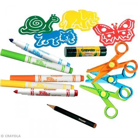 Kit corte creativo Crayola - Juegos creativos de 2 a 5 años ...