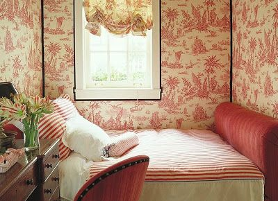 For Us  Lovers Of Toile De Jouy  A Guest Bedroom By Alessandra Branca