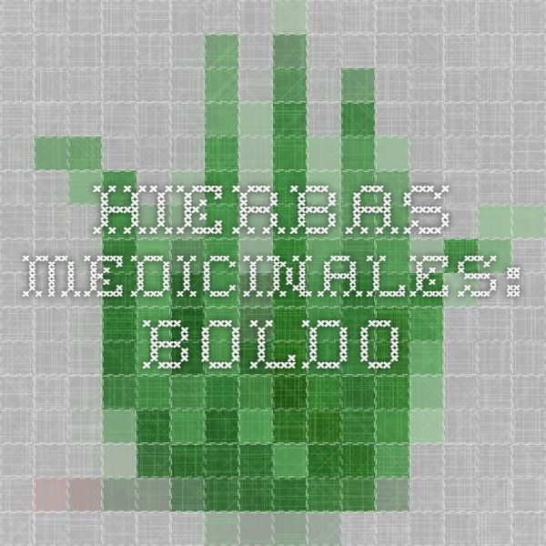 Hierbas Medicinales: Boldo