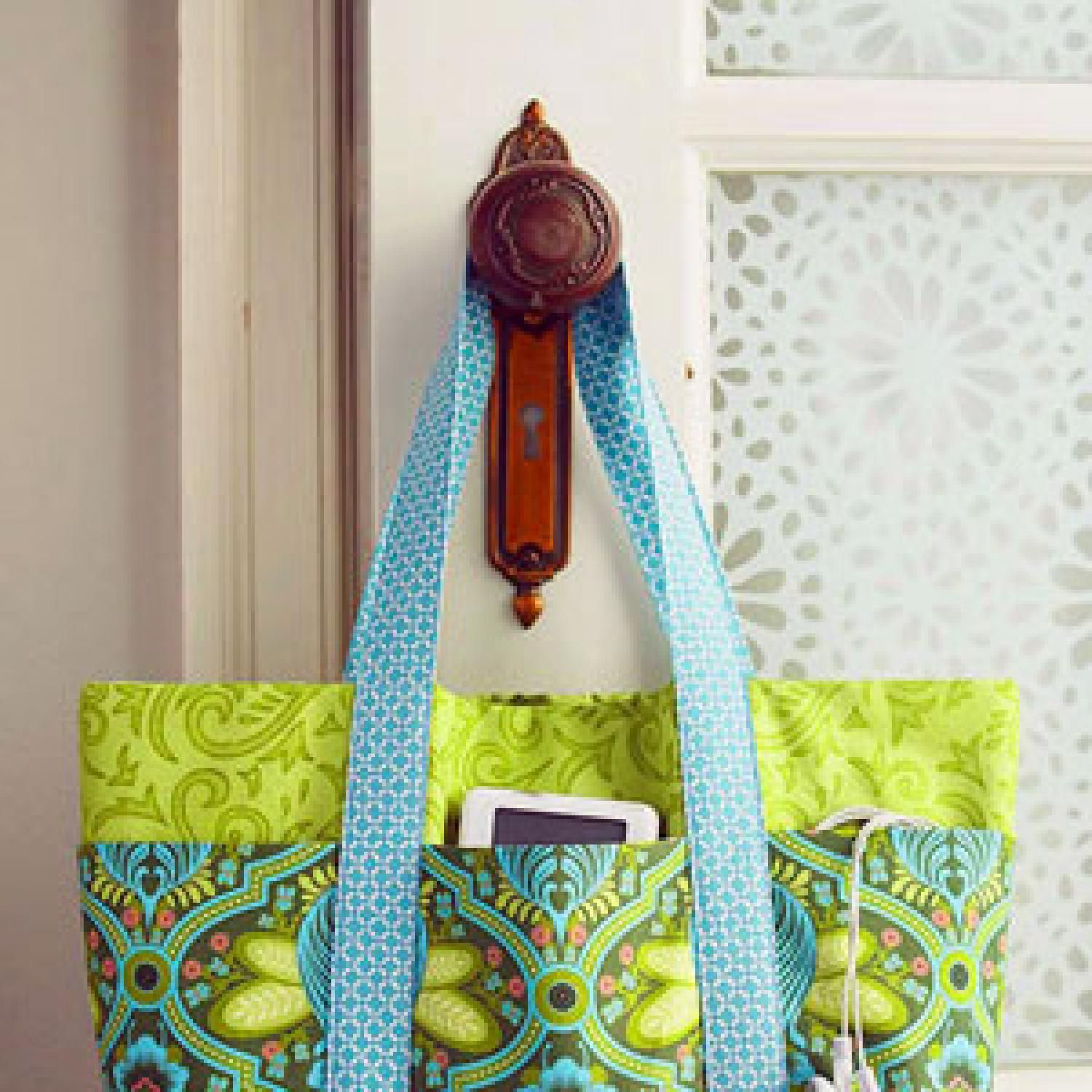 Check out a collection of patterns-including a mini tote bag, purse, hanging  organizer, quilt, and more-designed and inspired by Monica Solorio-Snow of  Happy Zombie.