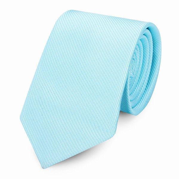 Homochromy Transposed Twill Businessman Narrow Tie
