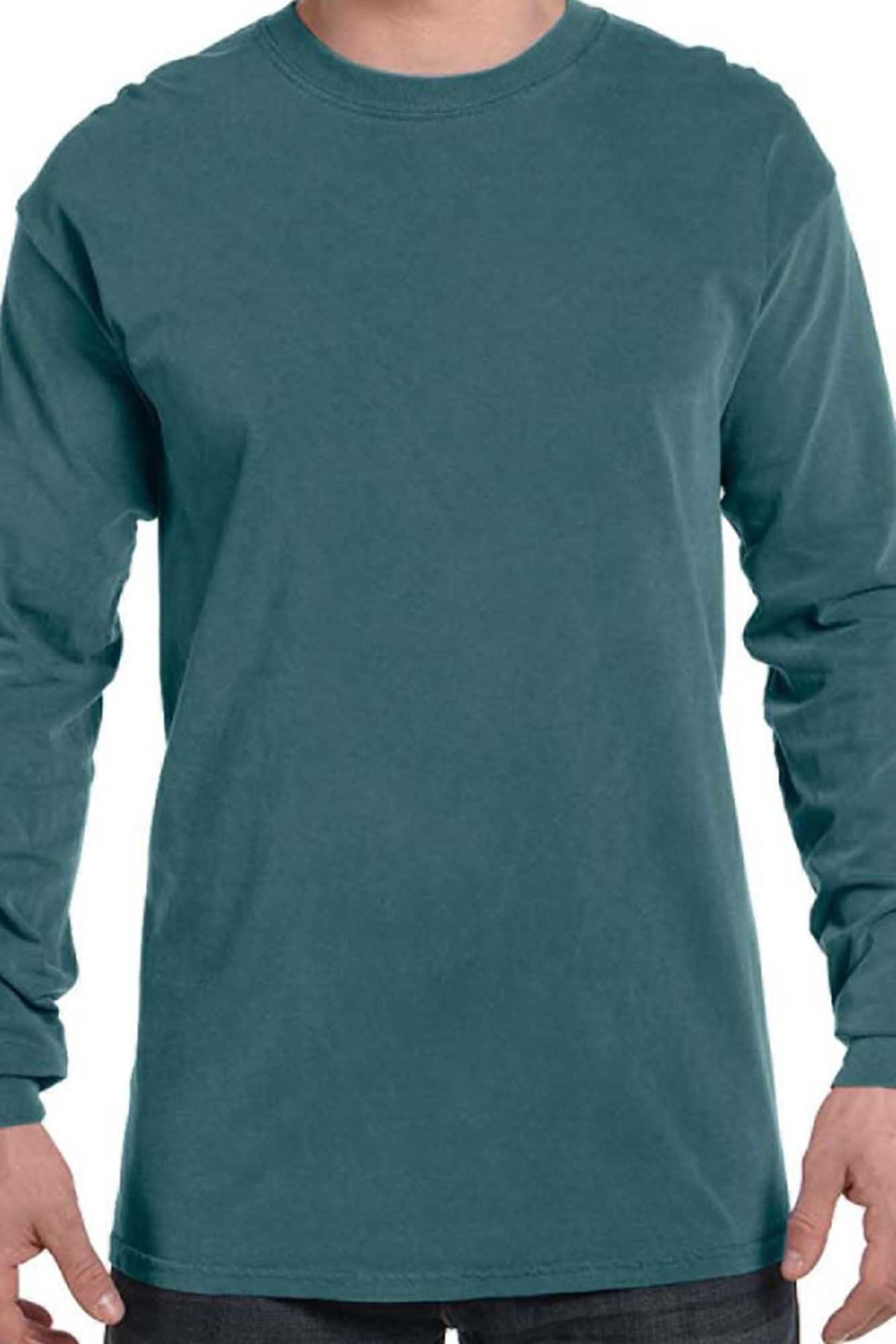 Bows Before Bros Comfort Colors Long Sleeve T Shirt 6014