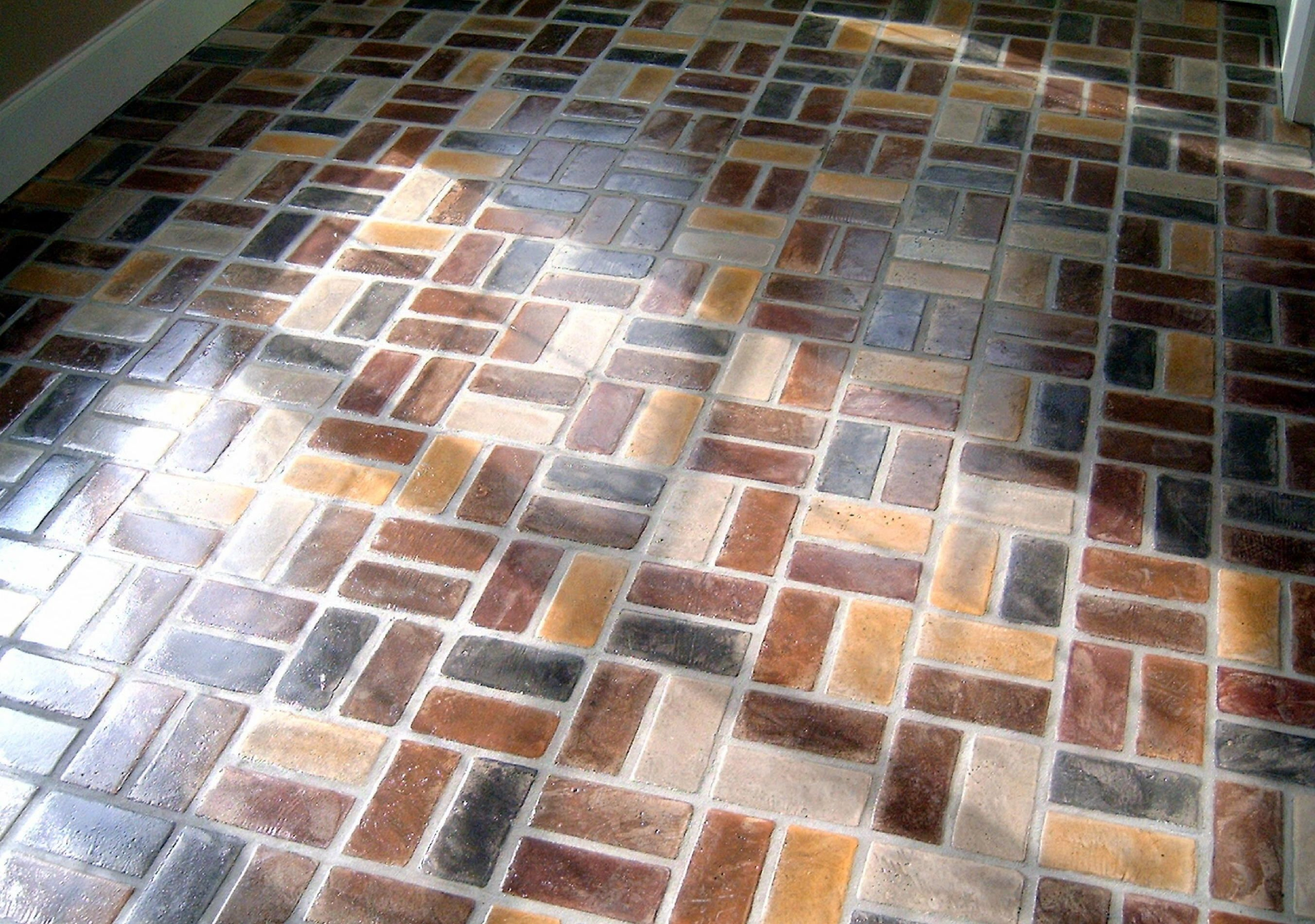 Brick Pavers For Kitchen Floor | Old Chicago Brick Flooring By PortStone