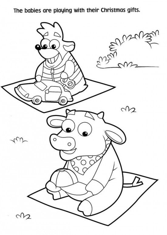 Free Printable Dora Christmas Coloring Pages Picture 21 550x772 ...