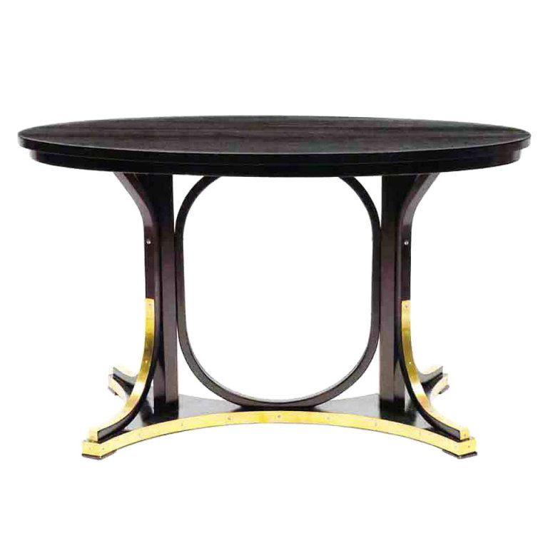 1stdibs oval table by otto wagner otto wagner pinterest mobilier de salon art d co et deco for Mobilier de luxe contemporain