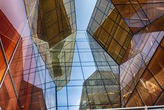 Bâtiment en verre moderne