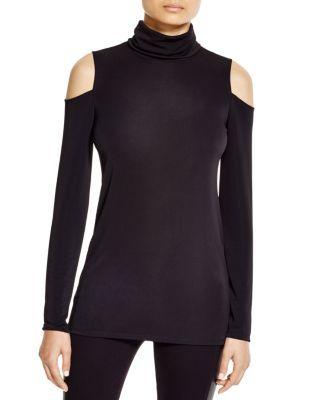 2bd5ca35c27afc DKNY Cold Shoulder Turtleneck Shirt - 100% Bloomingdale s Exclusive ...