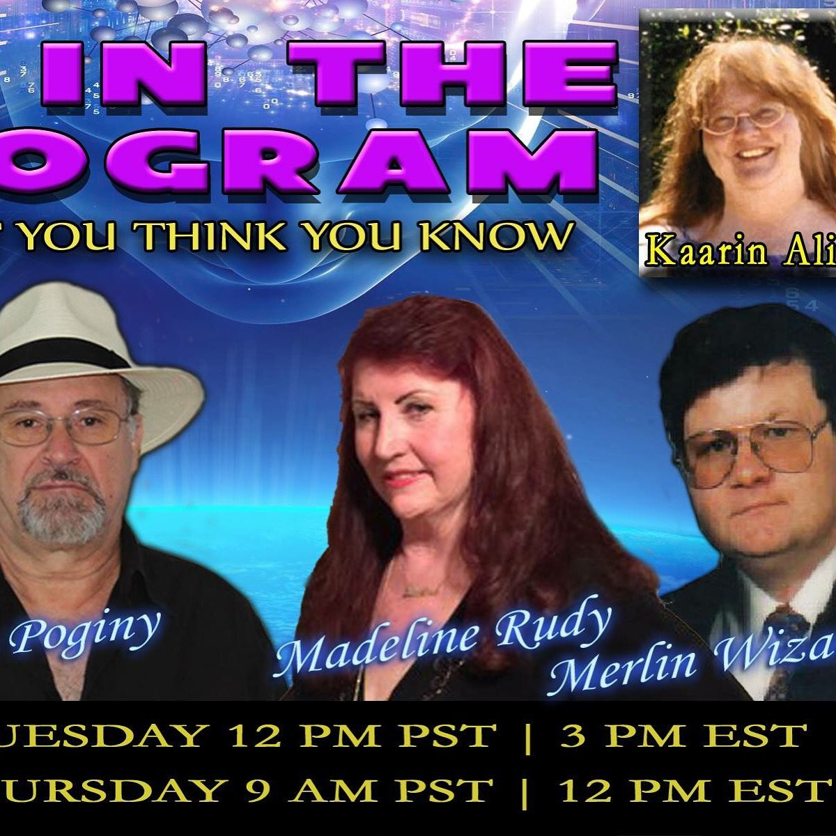 http://kcorradio.com/KCOR/Podcasts/Life-In-The-Hologram/2016/February/Kaarin-Alisa-In-The-Hologram-Madeline-Rudy-Merlin-Wizard-KCOR-Digital-Radio-Network.mp3 #kcor #talkradio#slimroastcoffee