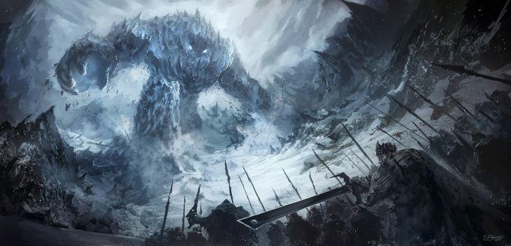giant monster wallpaper part 3 - Album on Imgur | Giant monsters, Art,  Concept art