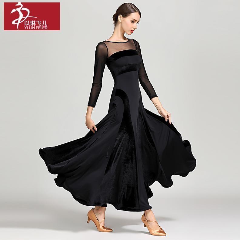 Flamenco Tango Dance Dress Latin Salsa Cha Cha Show Practice Costume