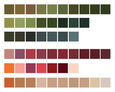 Nature color palettes sage color pallets and design color for Natural paint color palette
