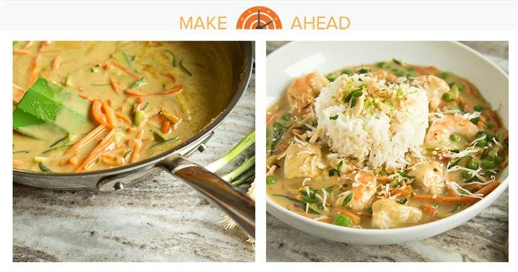 Make-Ahead Bang-Bang Chicken and Shrimp