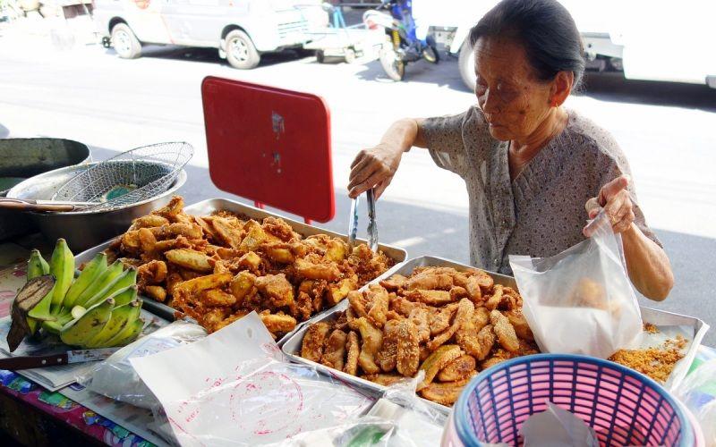 Fried Bananas in Bangkok