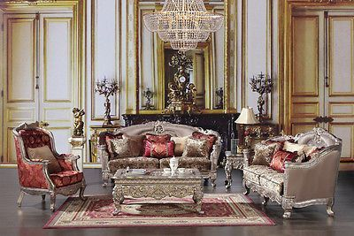 Luxury Formal 6 Piece Living Room Set HD 1880 Part 51