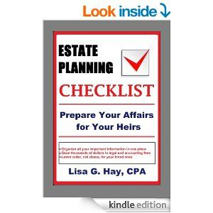Estate Planning Checklist: Prepare Your Affairs for Your Heirs Do You Want To: • Save thousands of dollars in legal and accounting fees? • Be prepared with all the information you might need in a financial or medical crisis or emergency? • Save time and energy replacing vital documents? • Quickly access all your important documents and when time is of the essence? • Provide peace of mind for your loved ones?  #estate #estateplanning #estateorganizing #organizing