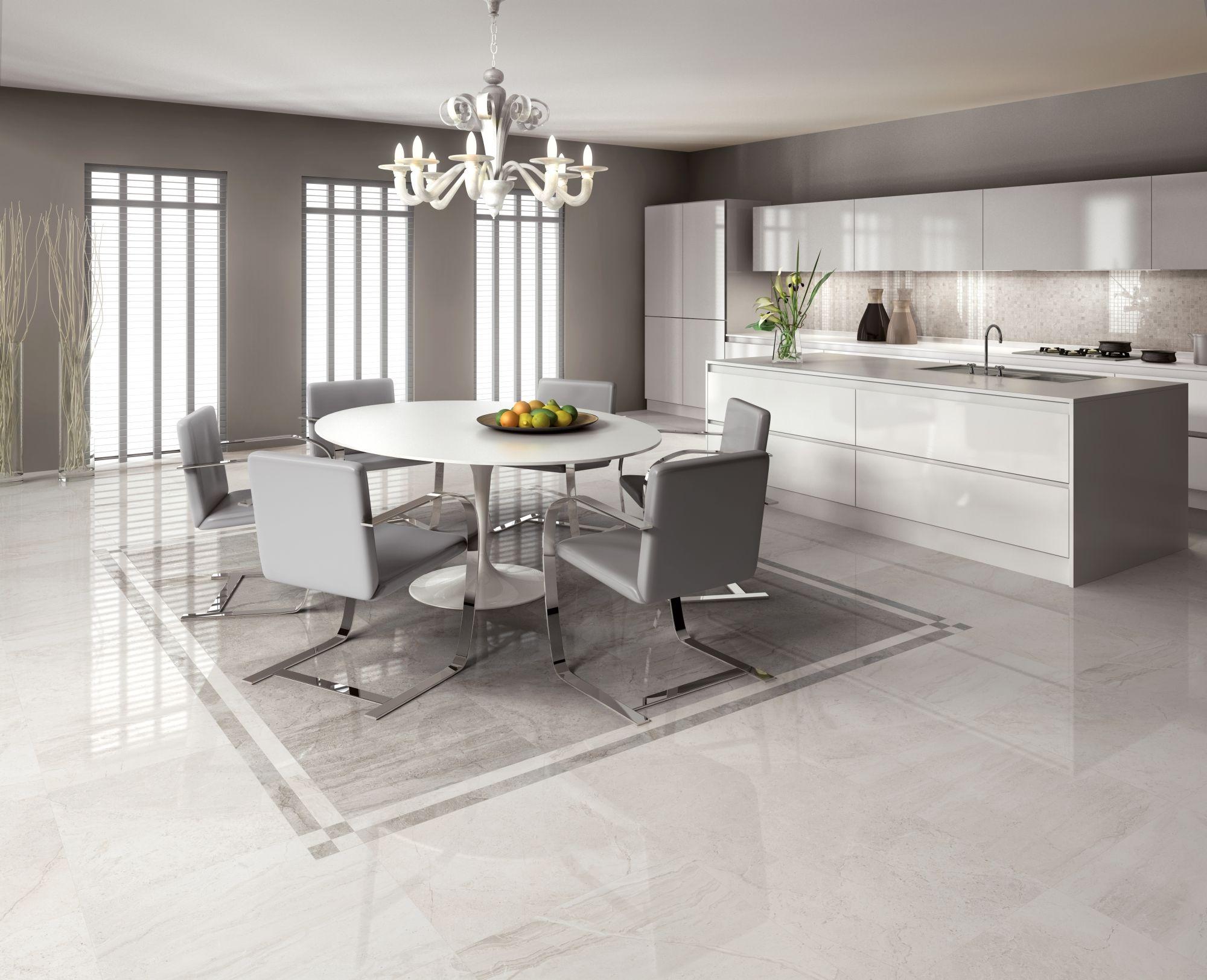 Pin di ceramiche supergres su pavimento in cucina for Piastrelle soggiorno