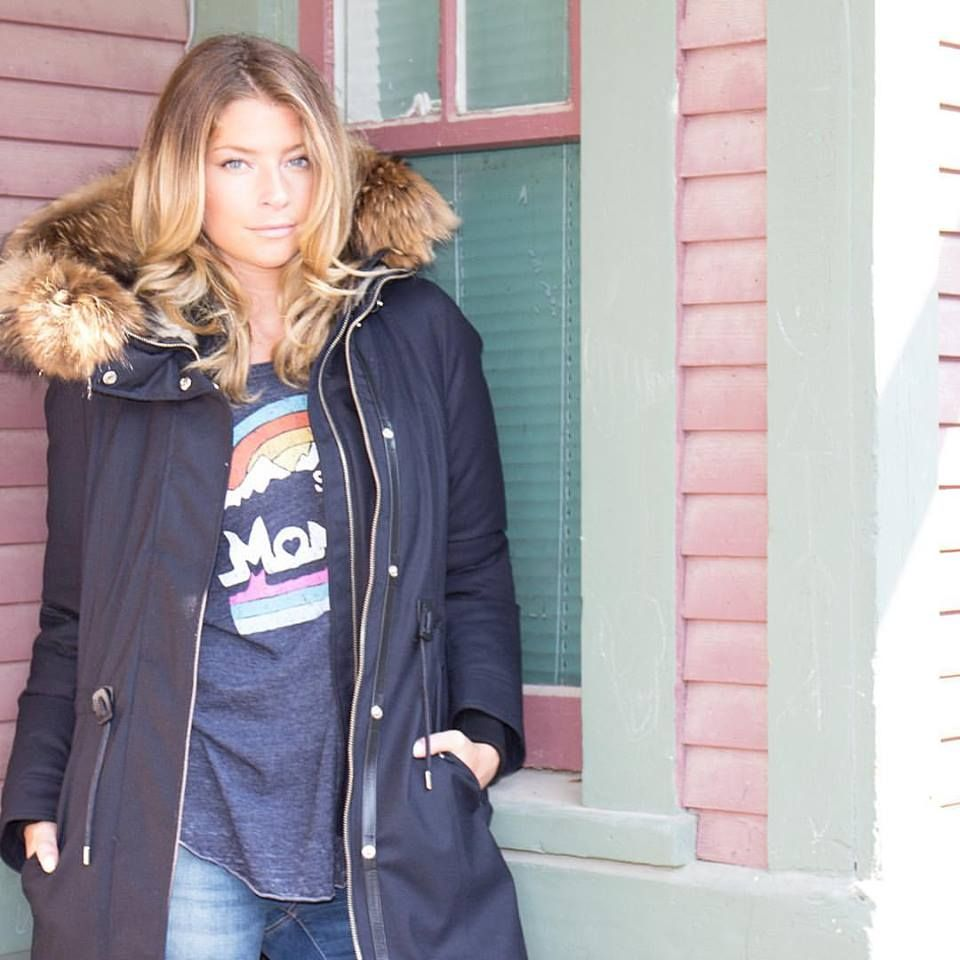 Baby, it's cold outside! Stay cozy and warm  in our down parka by Mackage