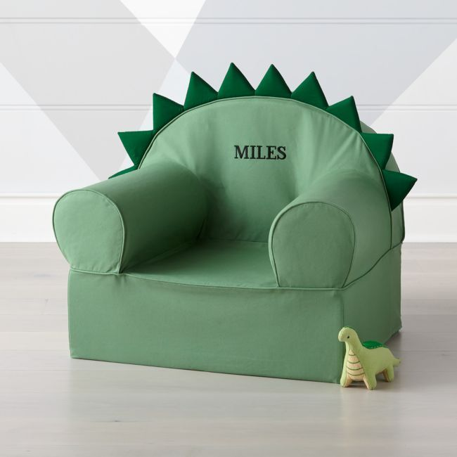 Large Dino Nod Chair + Reviews | Crate and Barrel