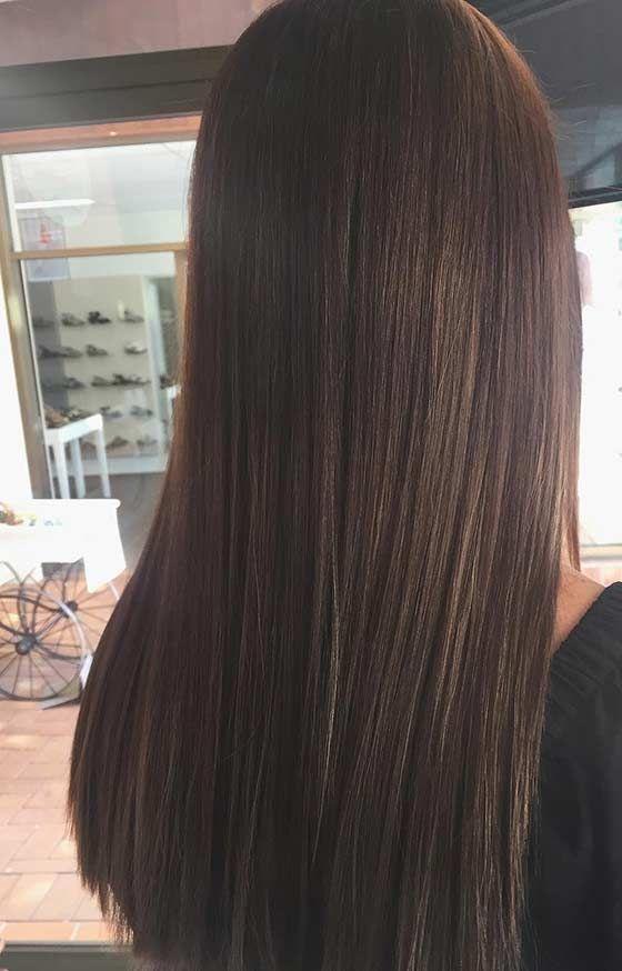 цвет волос цвет шоколад фото