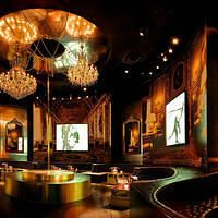 The 20,000-square-foot space of Gallery Nightclub fuses vintage gothic design with contemporary touches.
