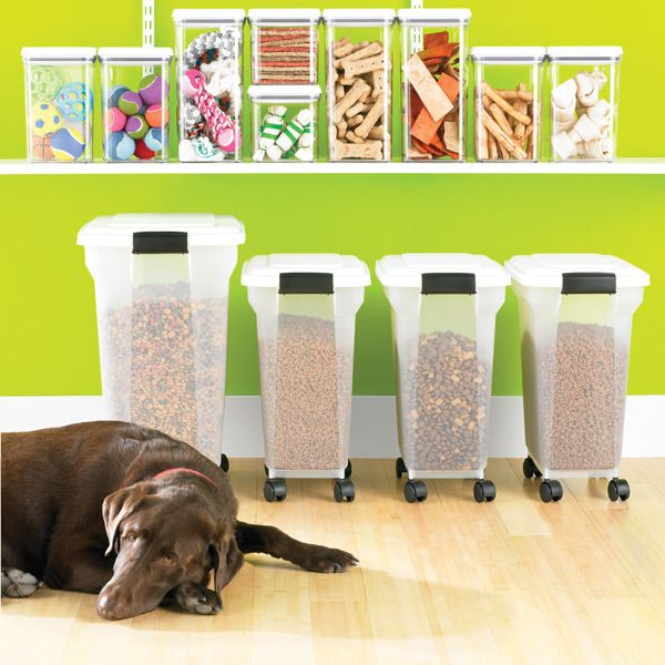 Iris Pet Food Containers | Pet food container Container store and Pet food & Iris Pet Food Containers | Pet food container Container store and ...