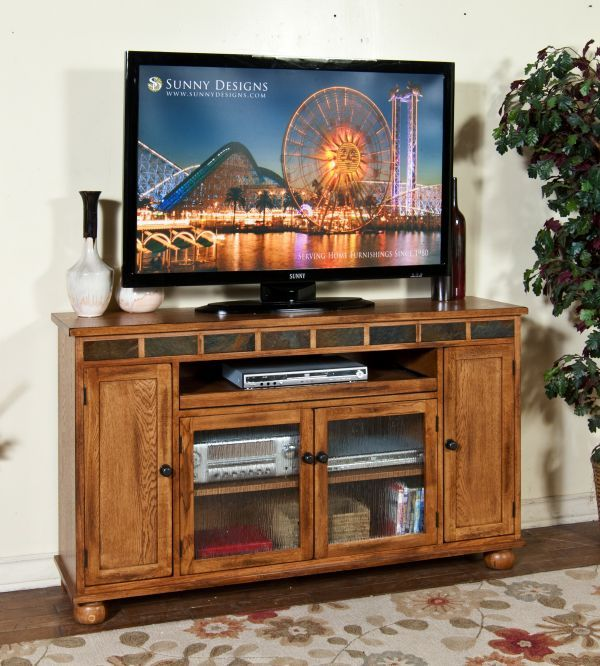 Sedona Rustic Oak Tv Stand 599 99