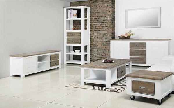 Bout De Canape 1 Tiroir White Horse Meuble Tv Et Table Basse Chaises De Table A Manger Meuble Tv