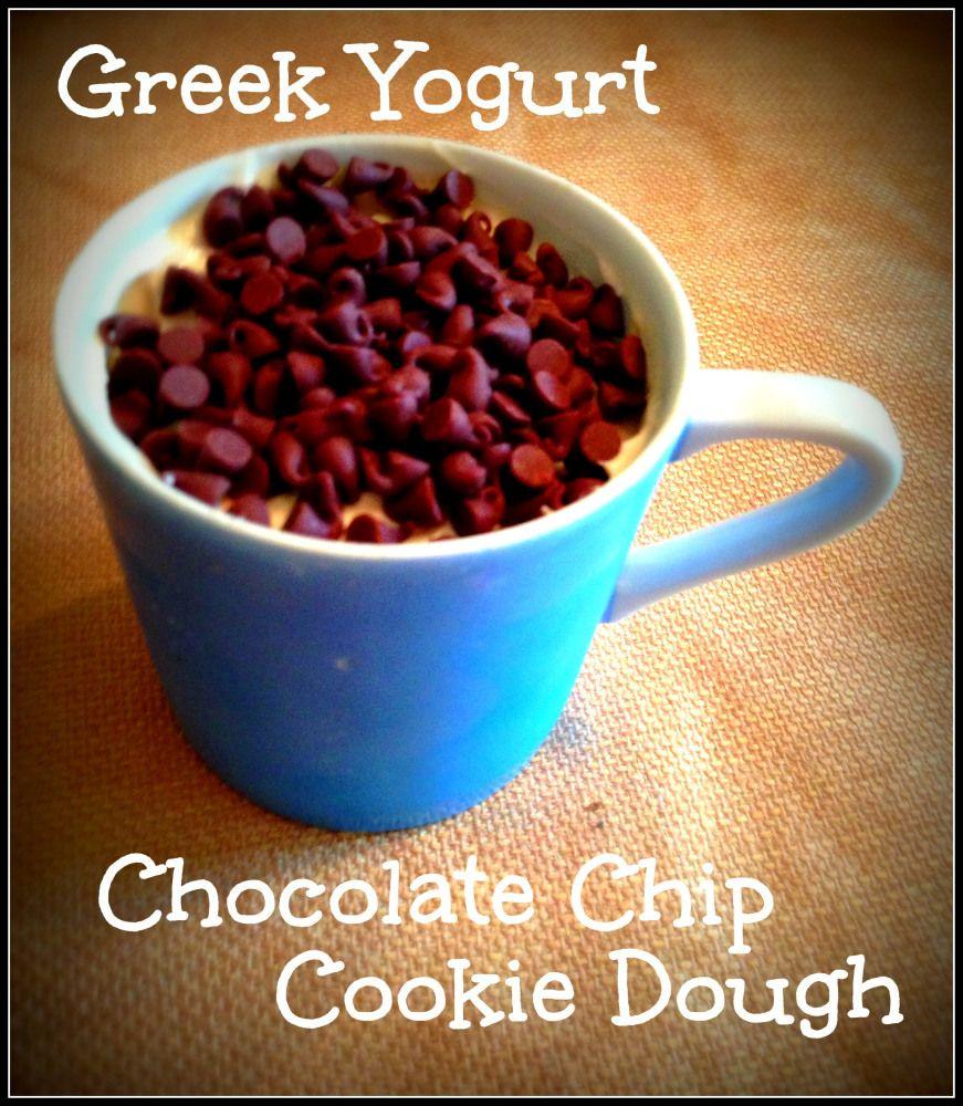 Greek Yogurt Choc. Chip Cookie Dough