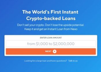 Take out a loan to invest in crypto