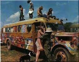 Resultado de imagem para Foto aérea do festival Woodstock, de 1969